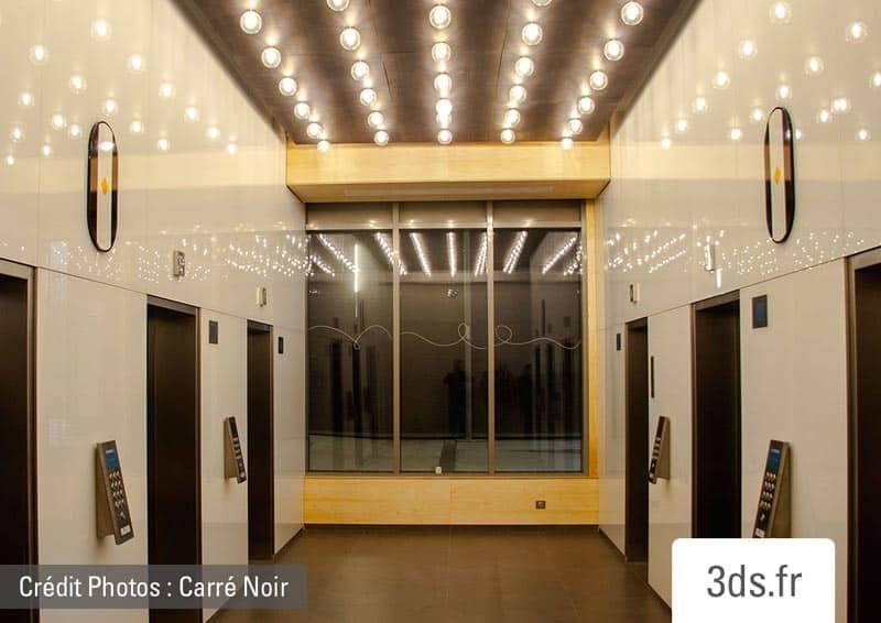 Signalétique Palier Ascenseur Numéro Etage Original