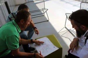 Etude chef de projet signalétique bureau