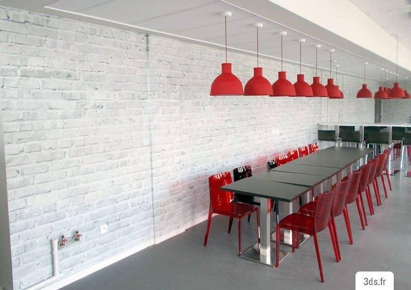 Visuel Mur Brique Trompe L'Oeil - Décoration Murale