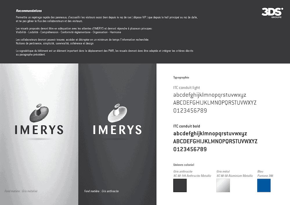 Conception Graphique Réalisation Charte Graphique Entreprise Imerys