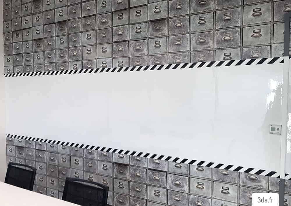 Film adhésif écriture original salle de réunion
