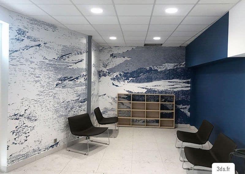 Décor Mural Immersifs Adhésif Imprimé