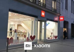 Déploiement enseigne boutique XIAOMI - Référence