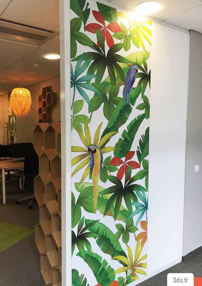 Visuel décoratif design bureau