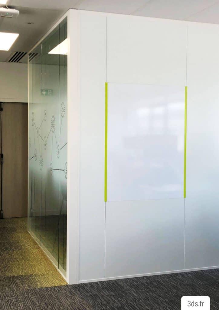 film décoration écriture bureau adhésif mur
