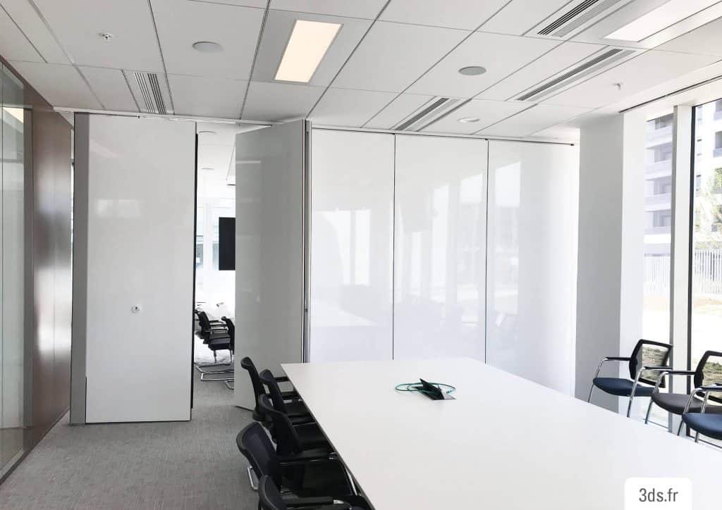 Film écriture whiteboard 3M cloison bureau entreprise