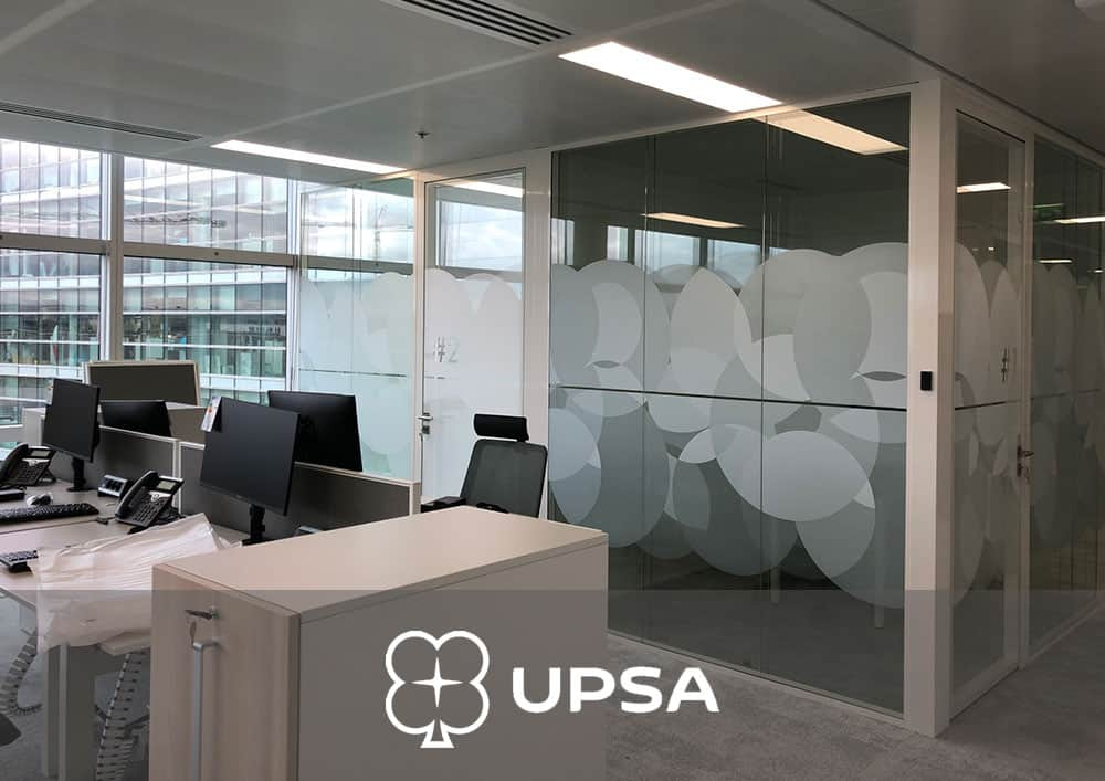 Aménagement bureau UPSA - Référence