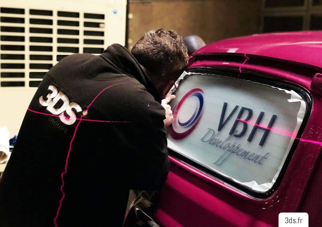 3ds-groupe-4lfilante-4ltrophy-vitrophanie-film-voiture-course-rallye-etudiant