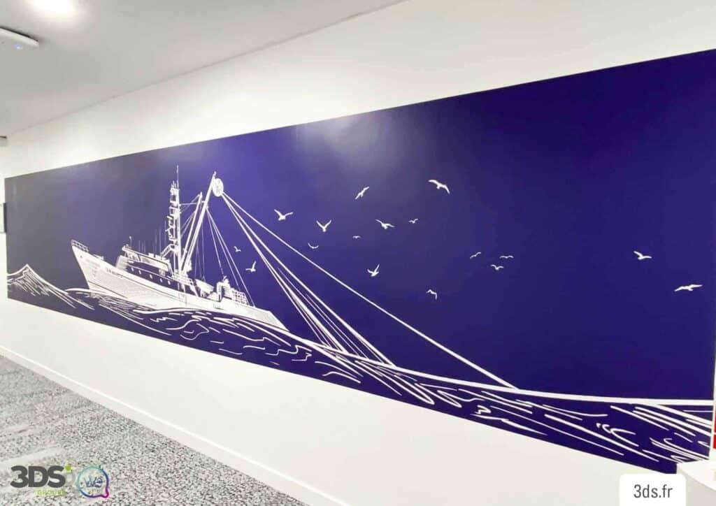 Visuel sur mesure et décoration murale adhésive