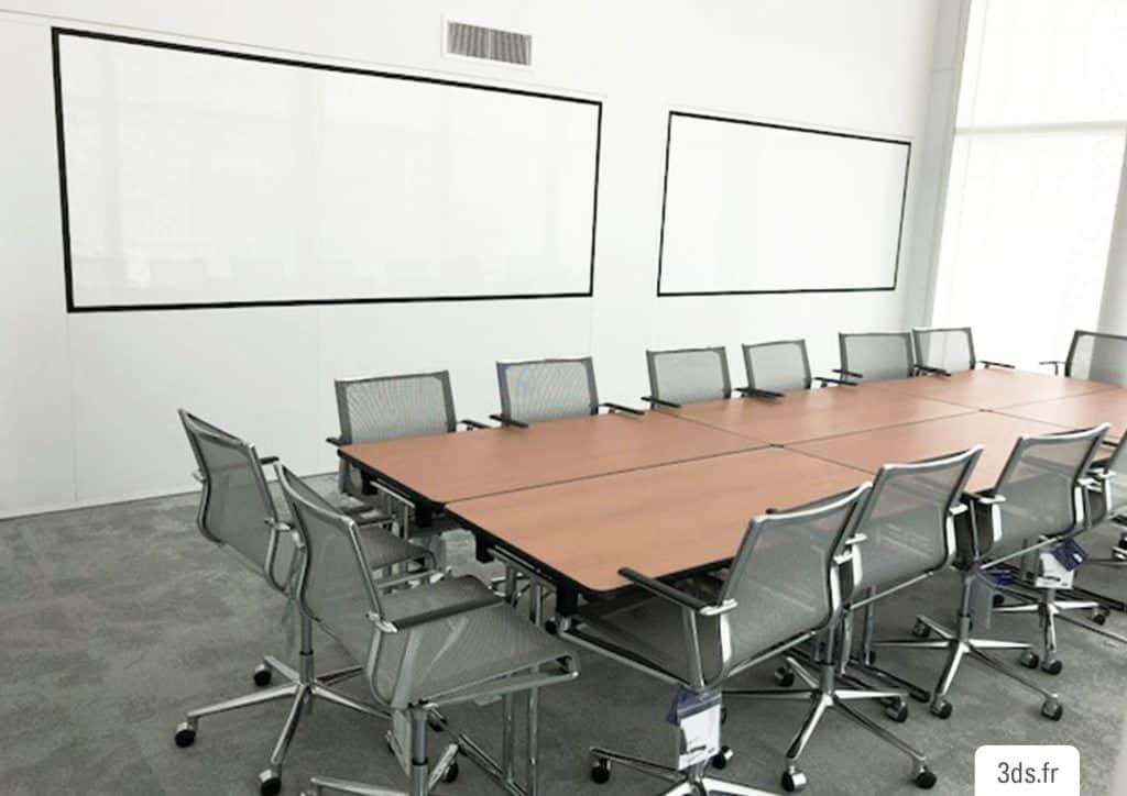 Film whiteboard écriture mur bureau
