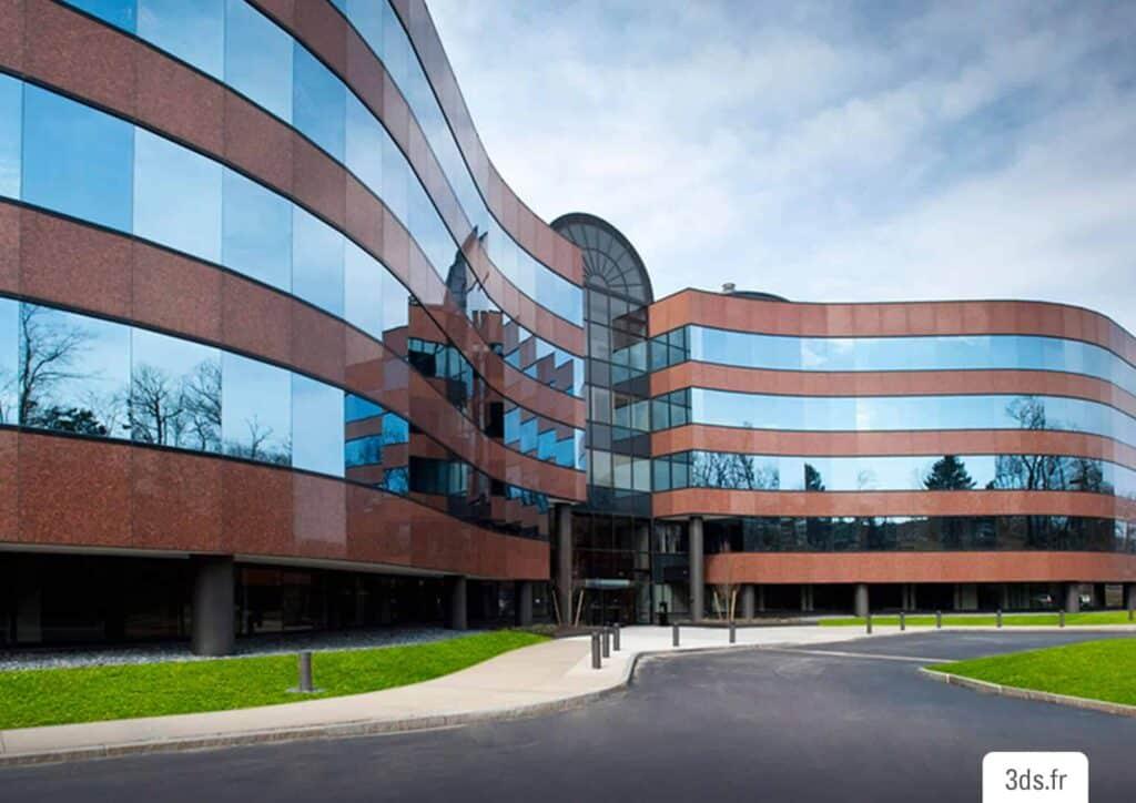 Film solaire 3M façade vitrée immeuble