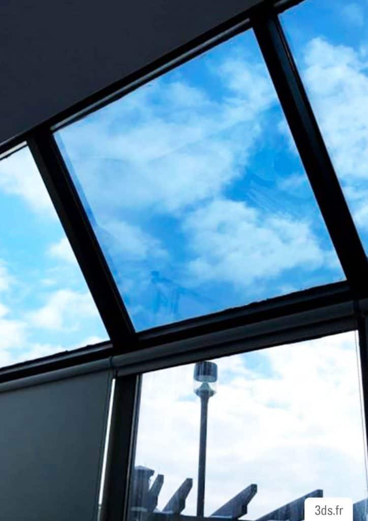 Film solaire anti UV fenêtre bureau