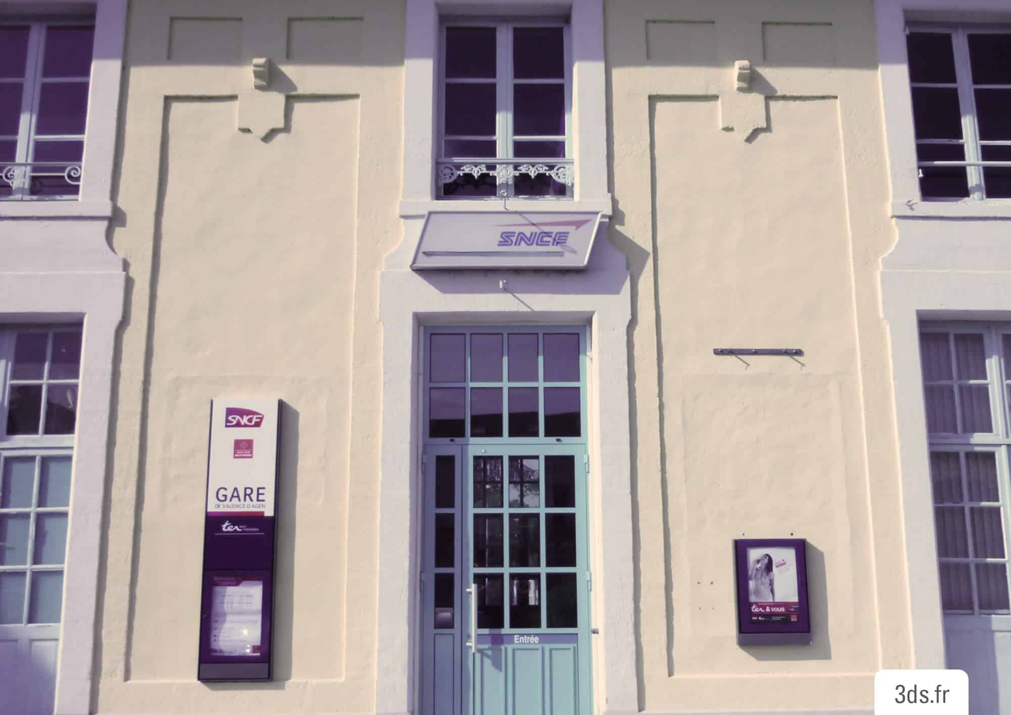 Ancienne facade gare SNCF