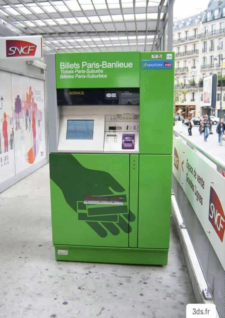 Habillage adhésif distributeur automatique billet