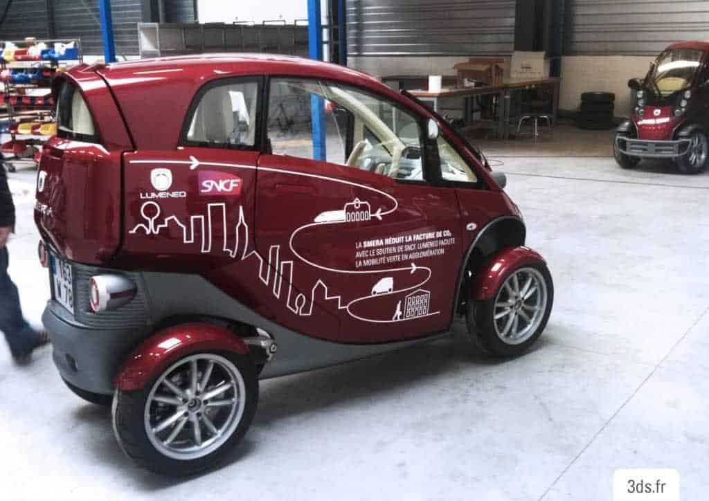 Covering voiture électrique flotte