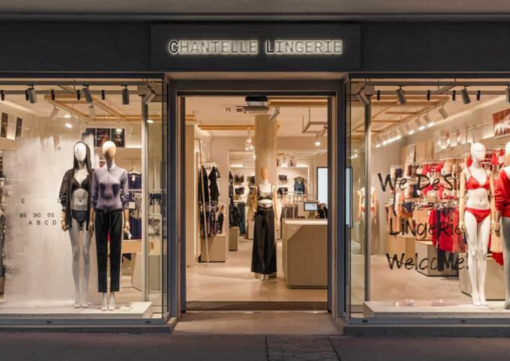 Enseigne lumineuse lettrage boutique