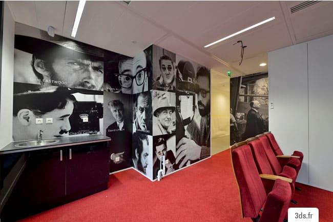 vinyle adhésif mur décoration bureau