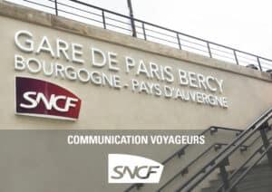 Déploiement signalétique gares SNCF - Référence
