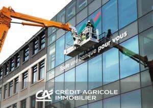 Aménagement bureau CREDIT AGRICOLE IMMOBILIER - Référence