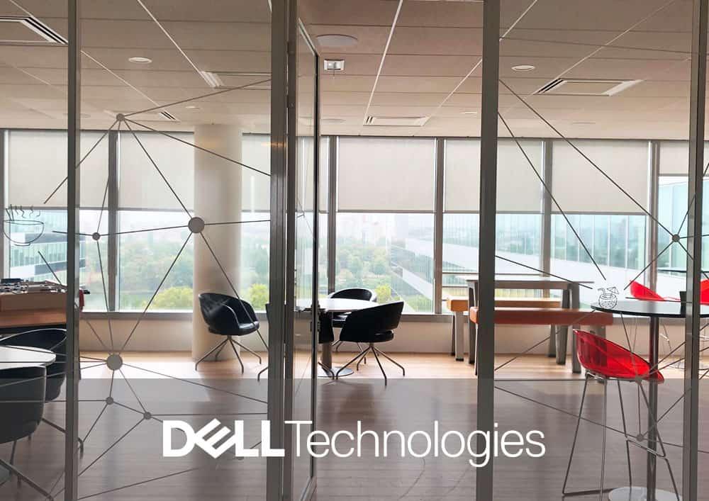 Aménagement bureau DELL Technologies - Référence