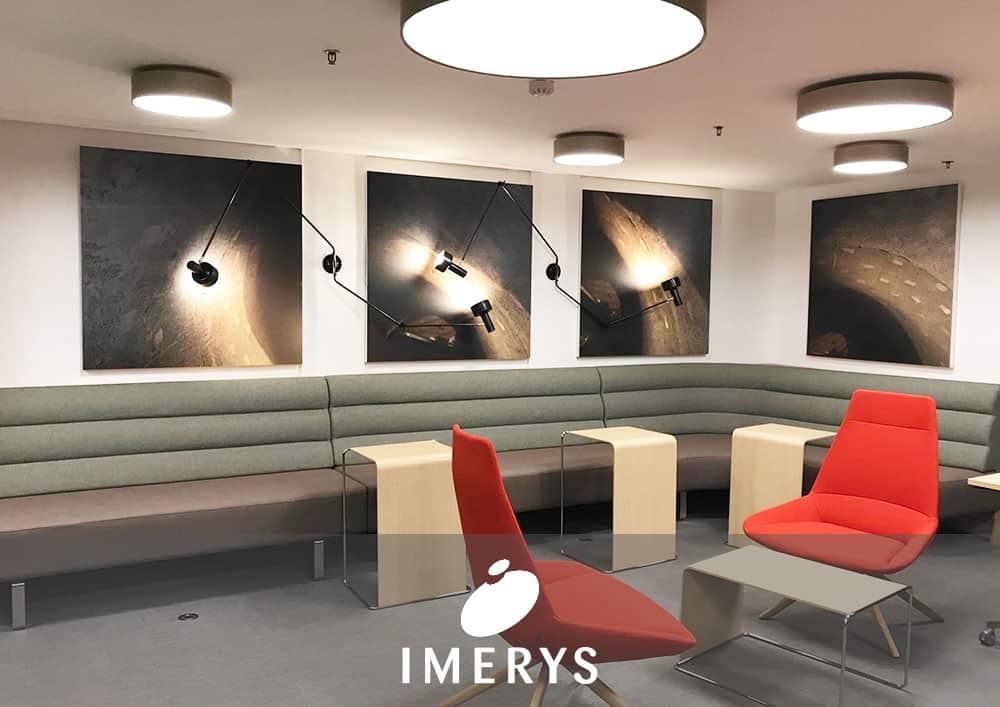 Aménagement bureau IMERYS - Référence