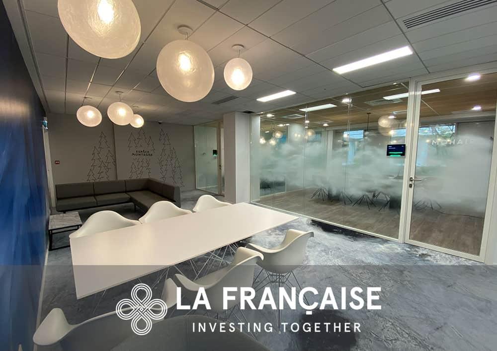 Aménagement bureau La Francaise - Référence