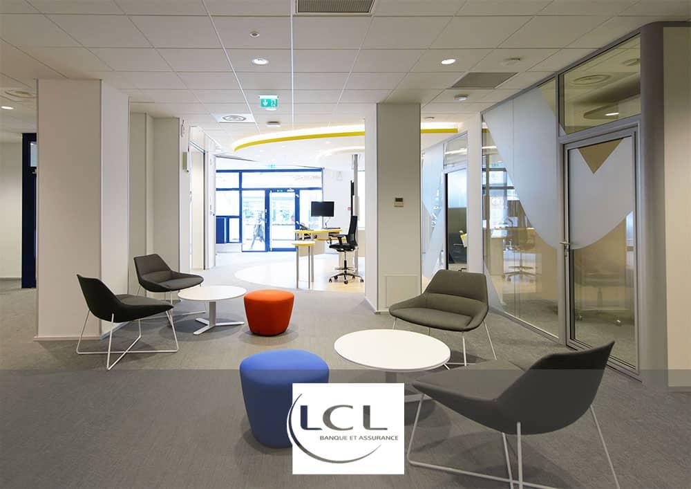 Aménagement Agences LCL - Référence