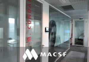Aménagement bureau MACSF - Référence
