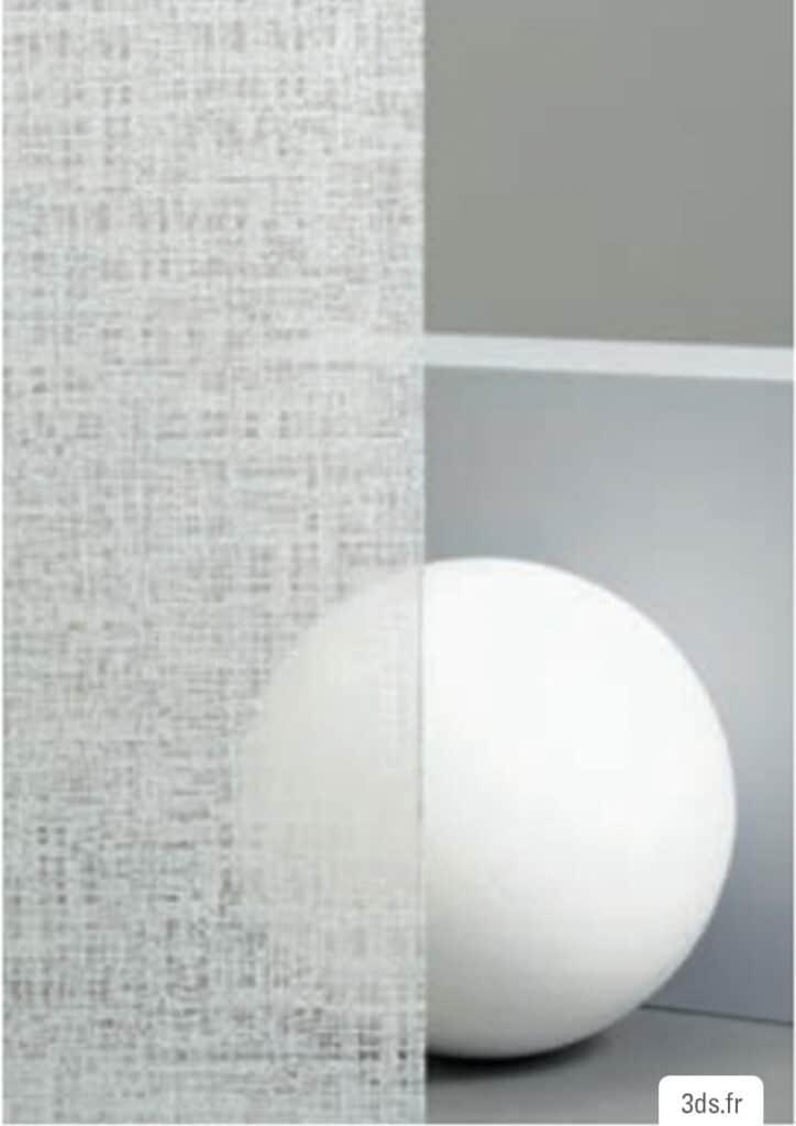 Vitrophanie fasara 3M effet papier