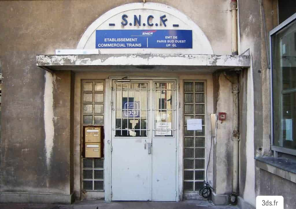 Ancienne facade SNCF