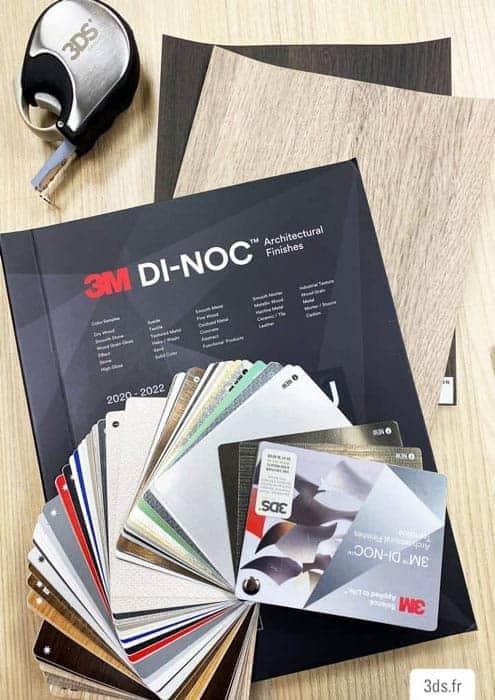 Catalogue échantillons DI-NOC 3M