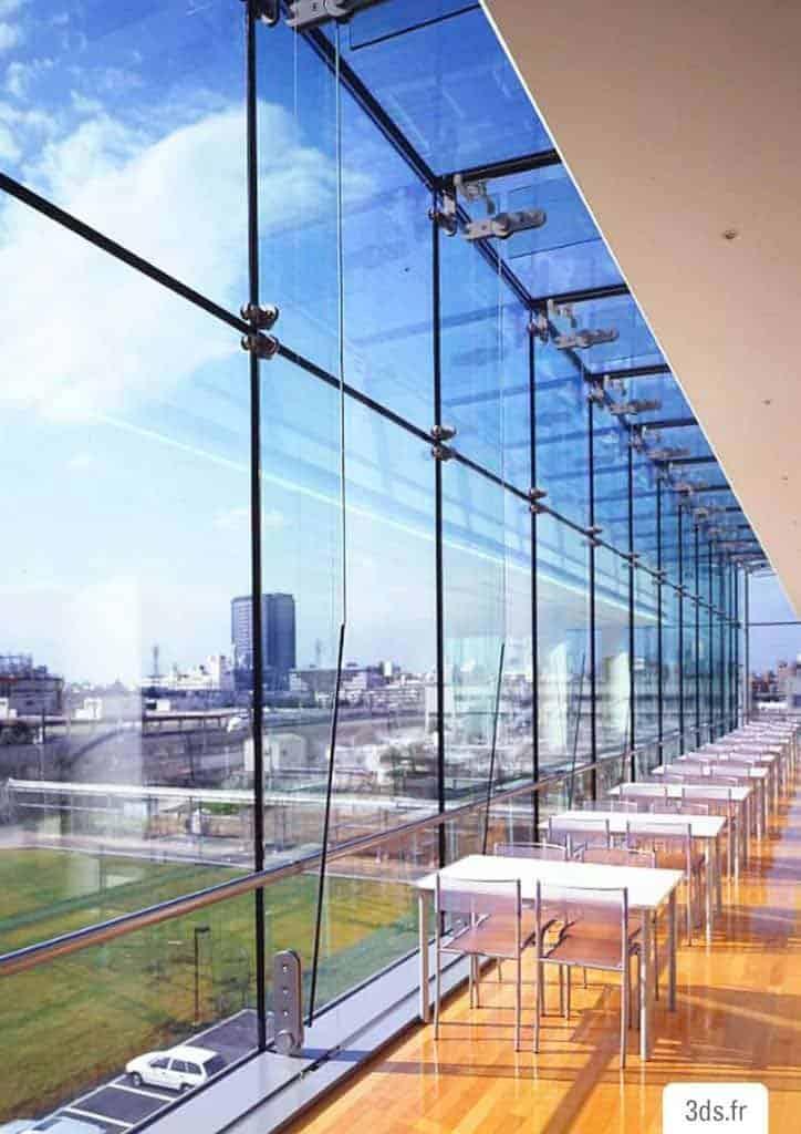 Film solaire 3M façade vitre bâtiment