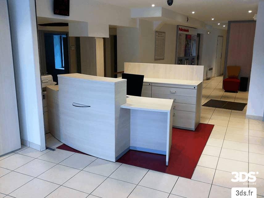 Covering 3M DINOC mobilier accueil entreprise