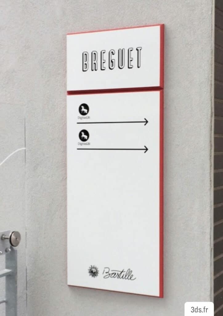 Signalétique Directionnel - Panneau Extérieur