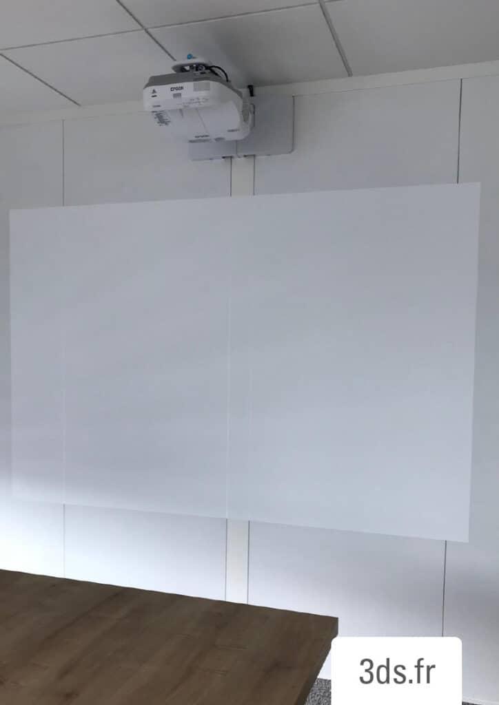Film écriture projection PWF 500
