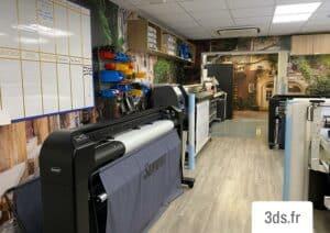 Imprimante laxte 3DS Groupe