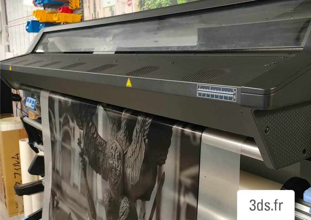 Machine impression latex atelier 3DS GROUPE