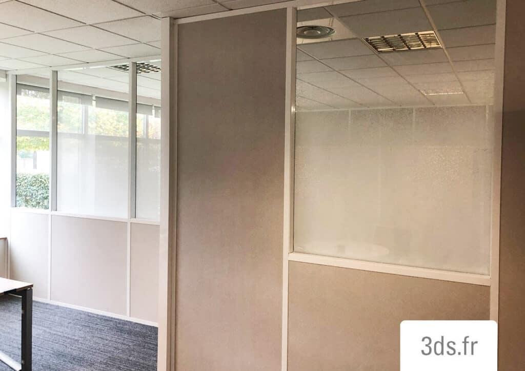 Vitrophanie reflectiv gamme dégradée bureau
