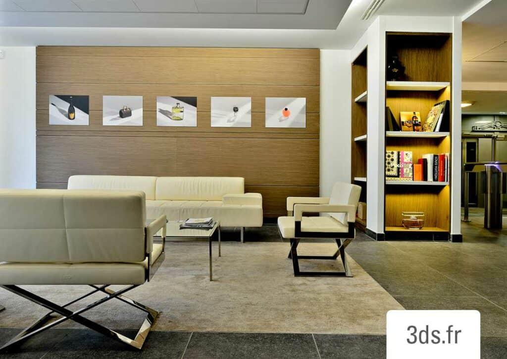 Décoration murale tableaux décoratifs entreprise luxe