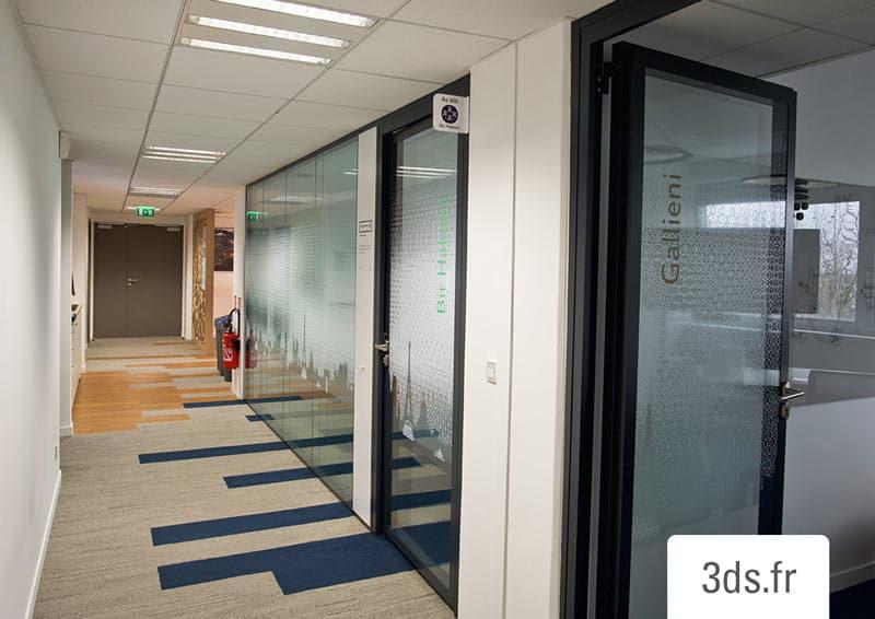 vitrophanie intimiste salle de réunion entreprise