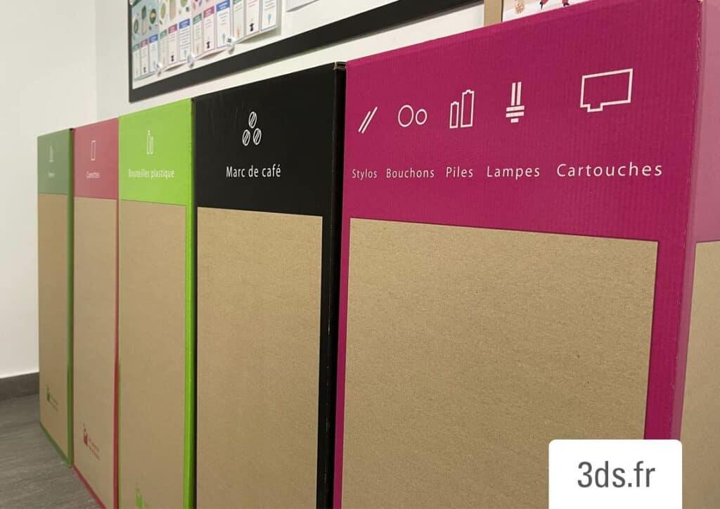 contenants recyclage tri selectif bureau 3ds groupe
