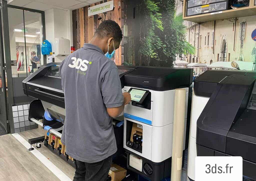 Équipe 3DS Groupe impression numérique imprimante latex
